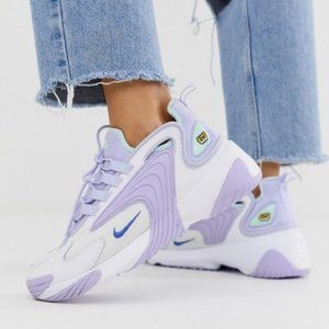 Like New Nike Lilac 2K Zoom Air Sneakers Size 7.5